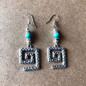 Jewelry - ✨FREE WITH PURCHASE✨ Silver earrings from Greece